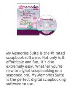 {My Memories Suite} Software Review & Give-away