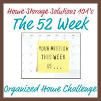 Goals for 2013 ~ Home Management Binder & 52 Weeks to Home Organization Challenge