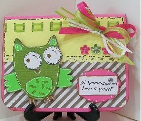 ♥ Whooooooo Loves You Card ♥