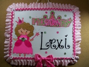 Princess Canvas Personalized Boards