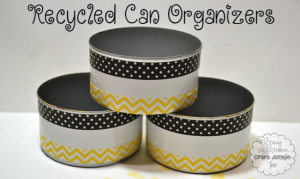 Recycled Can Organizers