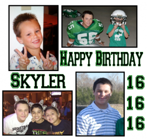 Happy Birthday Skyler!