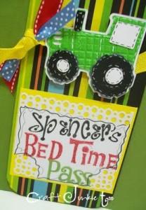 Bedtime Pass & Video #171