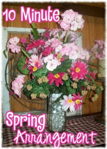 10 Minute Spring Arrangement
