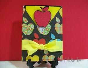 """""""School Days"""" Challenge Teacher Appreciation Card"""