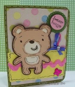 ♥ Bear Hugs Card for the Teacher ♥