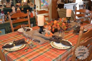 Our Thanksgiving Table 2012