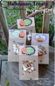 Packaging Idea for Halloween Treats