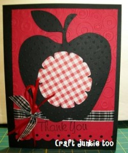 Apple {Thank You} Card