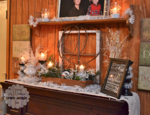 {Winter Mantel} for January 2013