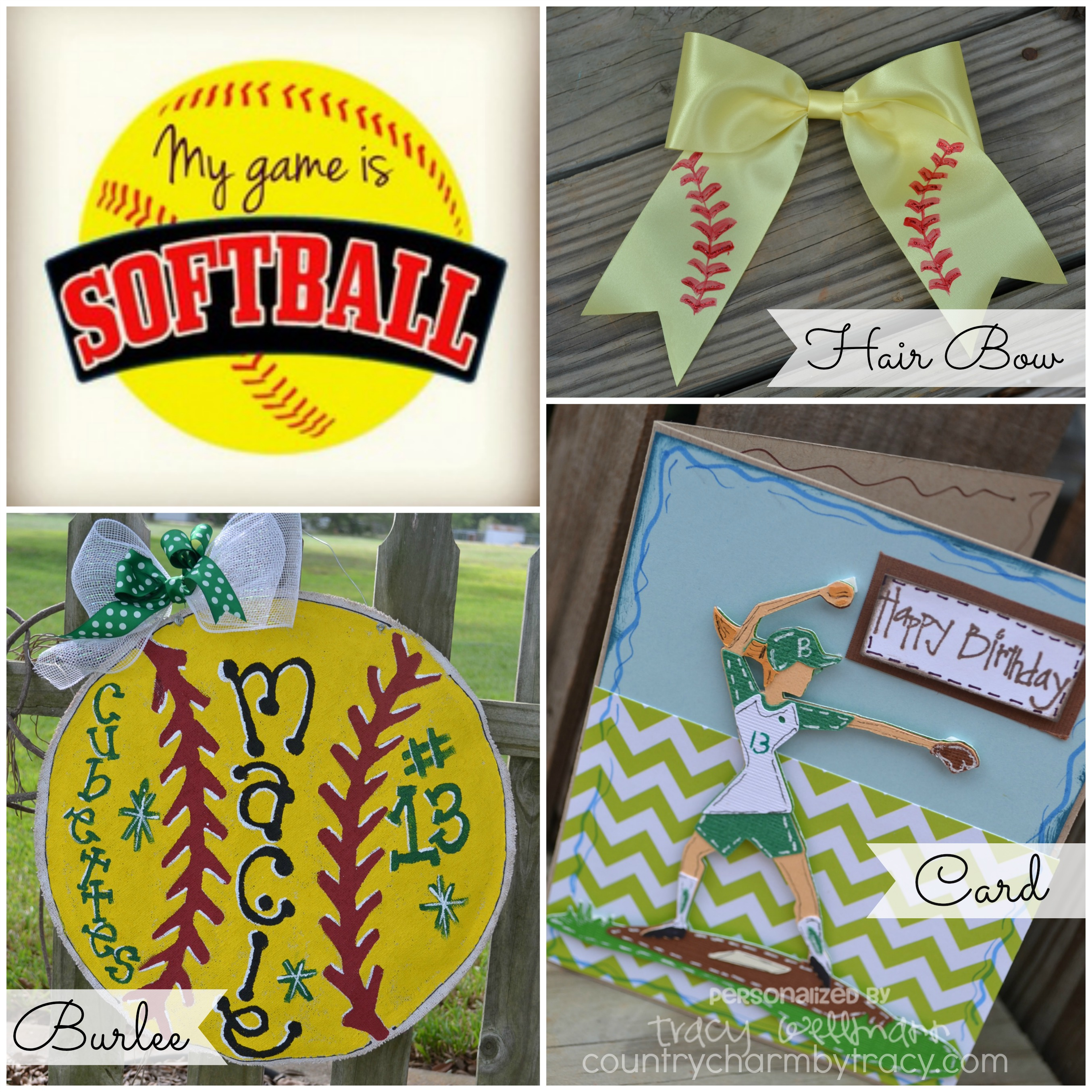 Diy softball craft == valentines day. I would love it if someone ...