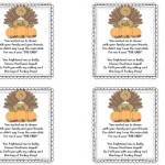 turkey poop printable