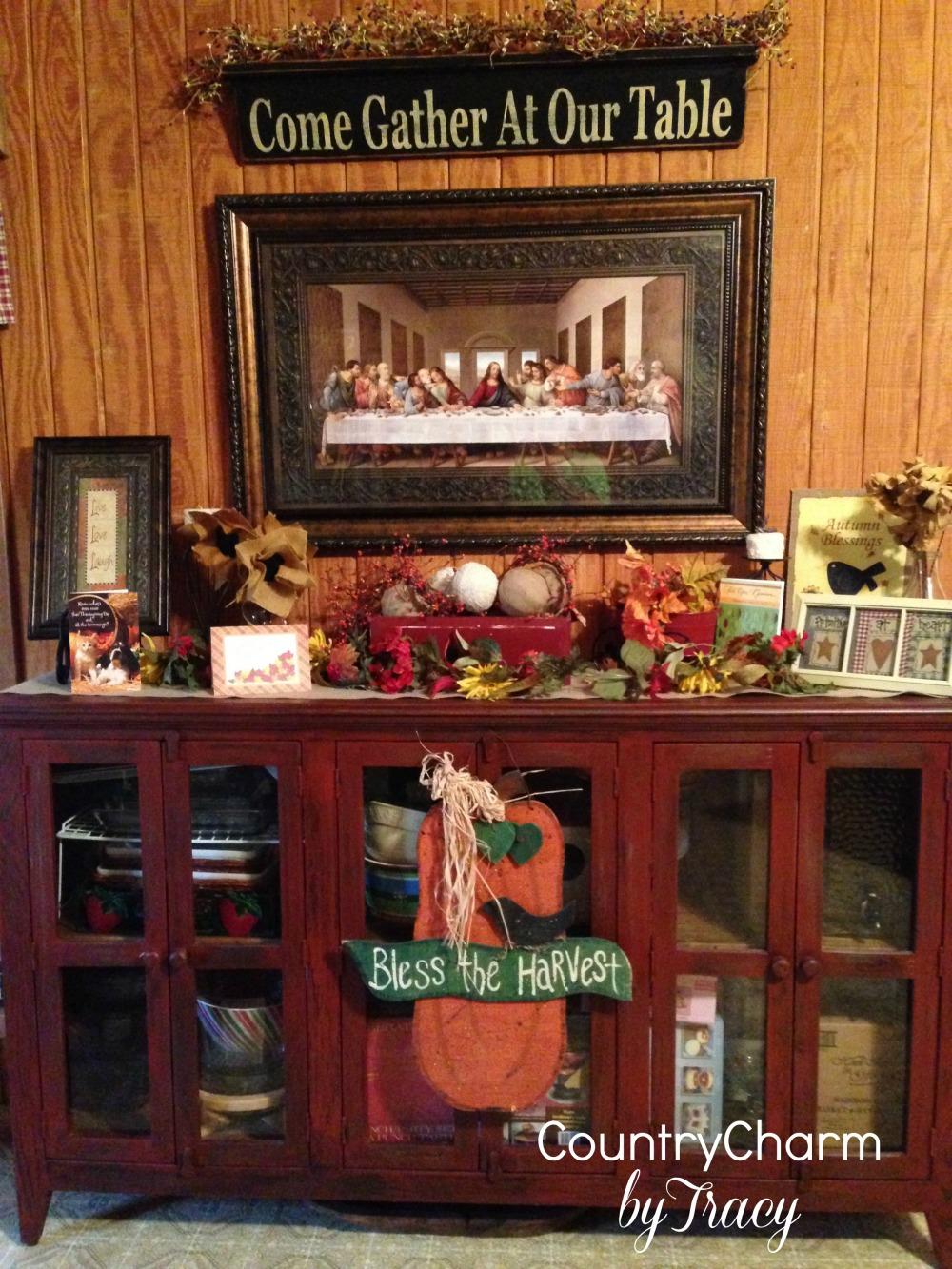 Thanksgiving Home Decor 2013