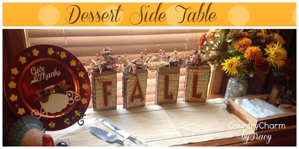 dessertsidetable