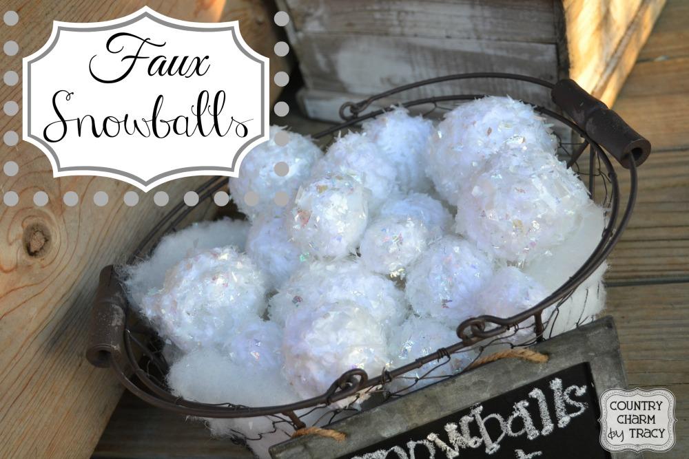 faux.snowballs