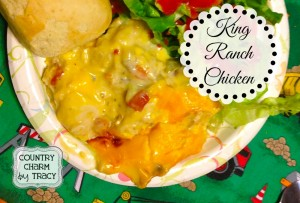 Creamy King Ranch Chicken
