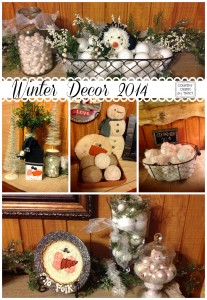 {Winter Decor} 2014