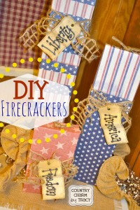 DIY {Vintage Nation} Firecrackers | Repurposed Cricut Cartridge Boxes (Video Tutorial)