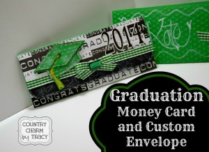 Graduation Money Card & Envelope | Video Tutorial