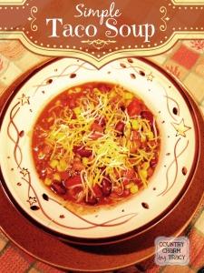 Simple Taco Soup