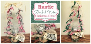 {Rustic Barbed Wire} Christmas Tree Decorations