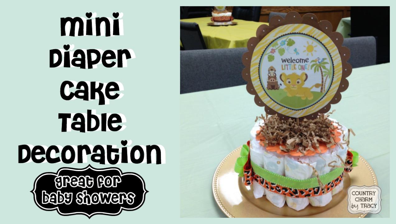 minidiapercake