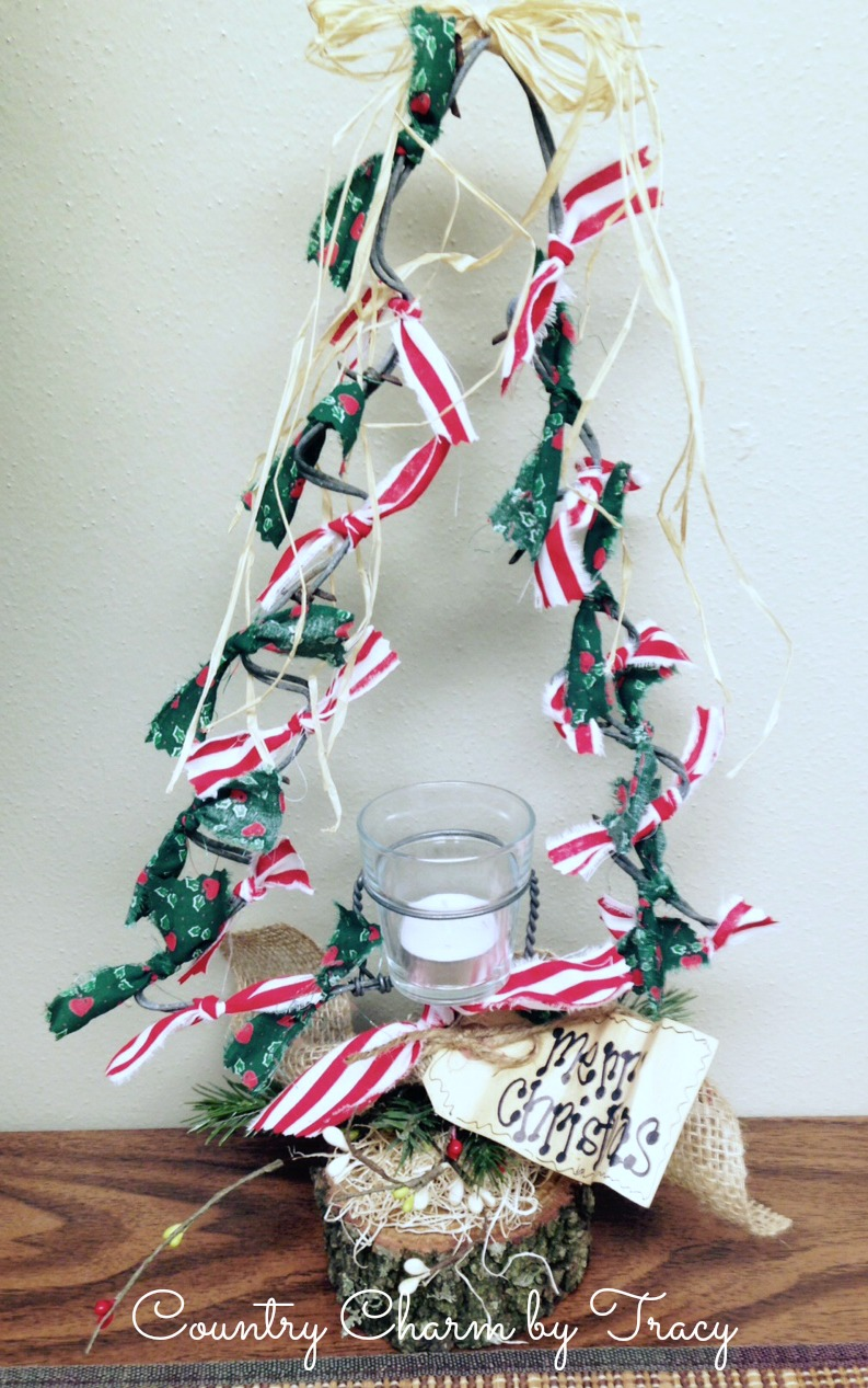 Rustic Barbed Wire} Christmas Tree Decorations ~ {Country Charm} by ...