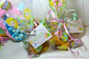 ♥ Simple Happy Easter Tags || Free Printable