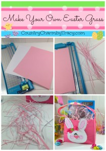 ♥ Make Your Own Easter Grass using Cardstock