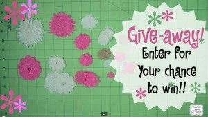 ♥ {Give-away} Enter to Win some Handmade Burlap Flowers!