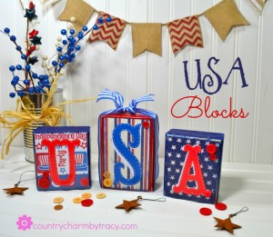 ♥ USA Blocks