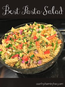 ♥ The Best Pasta Salad Ever!