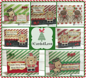 🌲 #Cards4Love Christmas Cards using Print and Cut in Cricut Design Space
