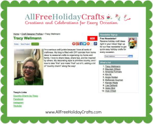 All Free Holiday Crafts Designer