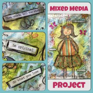 Starting a Mixed Media Project | Supplies for a Newbie