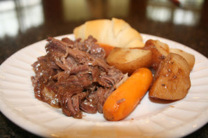 4 Packet Crock Pot Roast