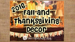 My Primitive Fall and Thanksgiving Decor for 2016