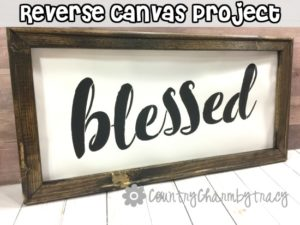 How to Make a Reverse Canvas Project