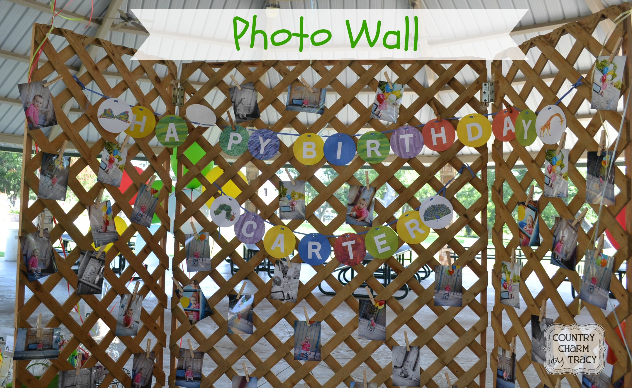 The Very Hungry Caterpillar Birthday - {Our Party Ideas} ~ {Country