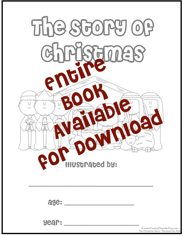 picture regarding Free Printable Christmas Story known as The Xmas Tale ~ Complete E book Obtainable with Totally free