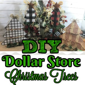 Dollar Tree Christmas Crafts.Diy Dollar Store Christmas Trees By Tracy