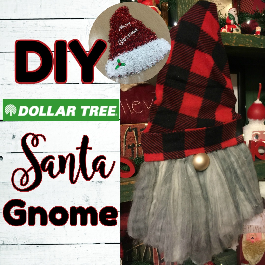 Gnome Santa Using Dollar Tree Items Country Charm By Tracy